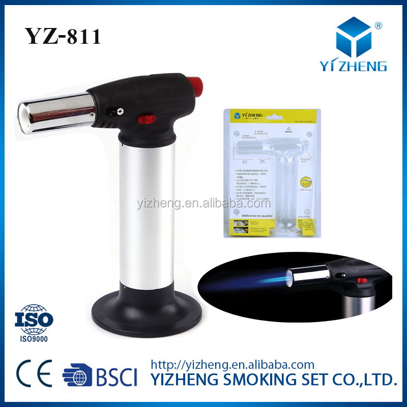 YZ-811 refillable fireplace gas lighter spark gas lighter bbq lighter