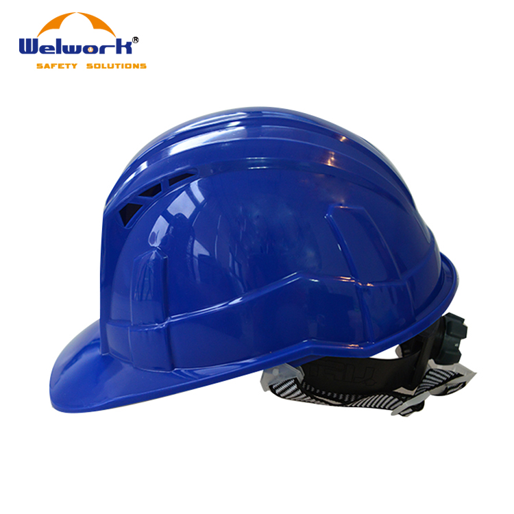2017 New Style Ventilation holes design cheapest engineering safety helmet