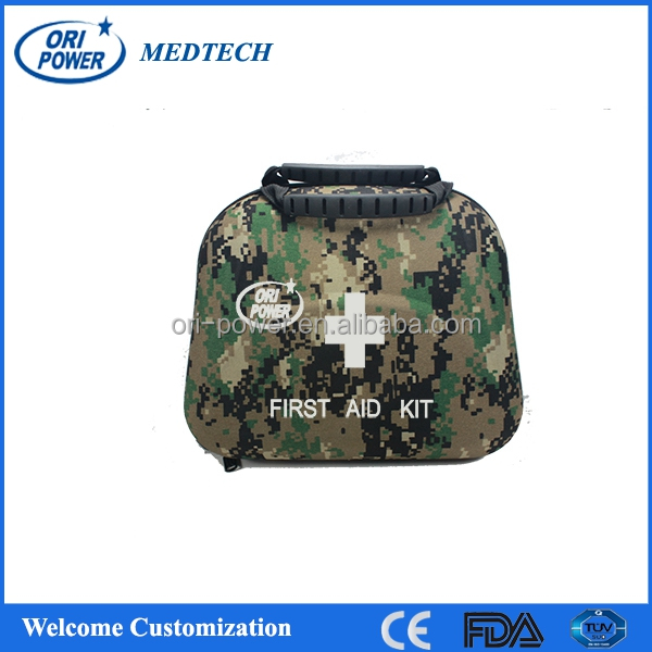 OP hot sale FDA CE ISO approved oem wholesale professional portable travel police army medical first aid bag
