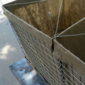 Hot dipped galvanized hesco barrier for protecting existing structures