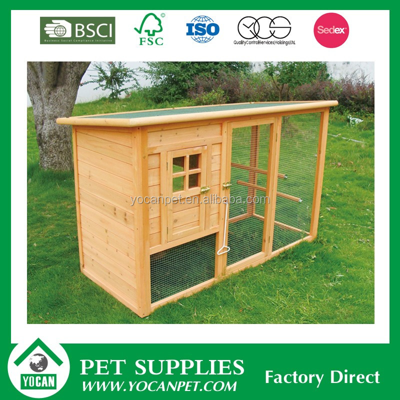 New style cheap waterproof wooden chicken coop
