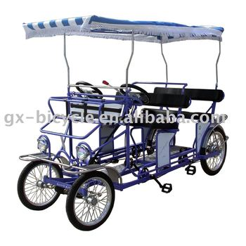 BLUE BIKE QUAD-CYCLE