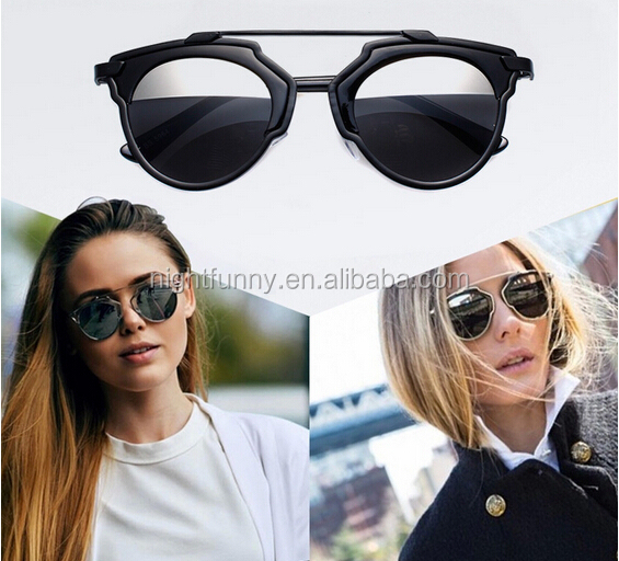 Women Men Sunglasses Designer Cat Eye Vintage Mirror Lens,Vintage Cat Eye Sunglasses