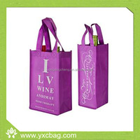 2-Bottle Nonwoven Wine Bottle Bag