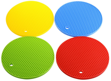 Silicone Heat Resistant Coasters Cup Insulation Mat