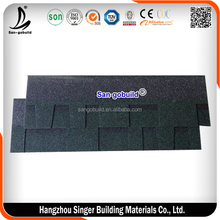 China Factory Asphalt Roofing Material, Transparent Flat Polymer Roof Tiles