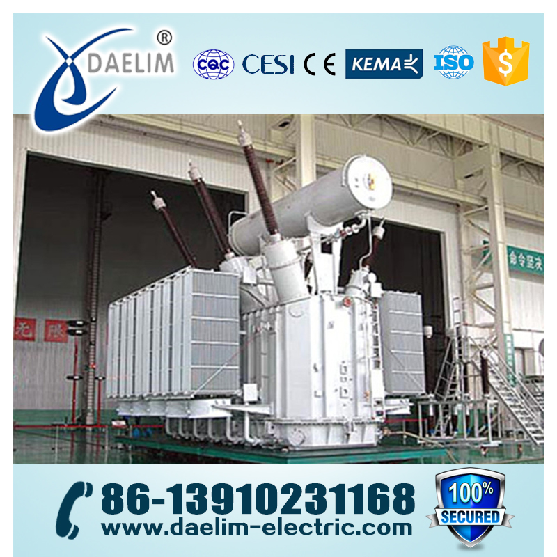 110kv 70mva Oil Immerse Power Transformer Used MR with OLTC
