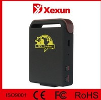 original xexun mini gps tracker k10 mini gps tracker motorcycle with 9-36V car charger free tracking software