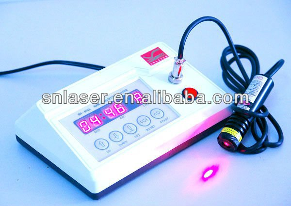 Light cure machine / 20 mw and 40 mw Medical cold laser therapy