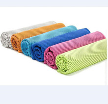 Eco-friendly customized microfiber sports cooling towel