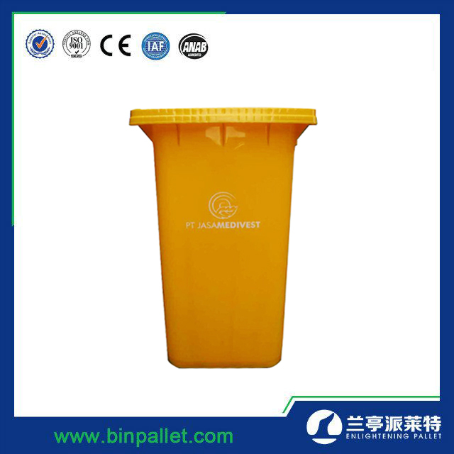 Hot sale 240l HDPE Mobile Garbage Bin cheap recycle bin plastic waste bin