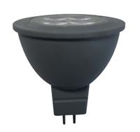 New Design Led Bulb GU5 GU5.3 MR16 Spot Light Down Lighting Bulb DC 12V Spotlight 6W 36 Degree CE RoHS Plastic Coated Aluminium