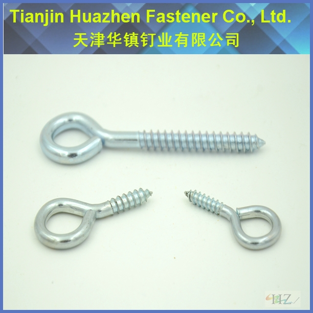 Manufacture Supply Window Eye Bolts Screws/ Circle Closed Eye Bolts Screws