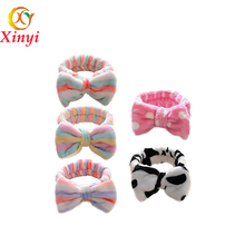 Girls Lovely Plush Headdress Headband Hair Hoop Hair Accessories