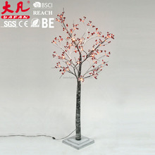 2017 popular decorative garden lights artificial led twig tree