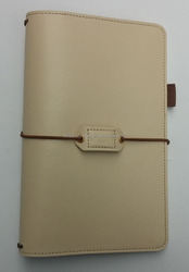 fancy PU leather binder without ring