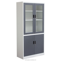 Modern stainless steel metal type office glass door cabinet/safe cabinet laboratory