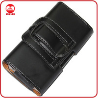 Deluxe High Quality Leather Pouch Belt Clip Case for Samsung Galaxy S2