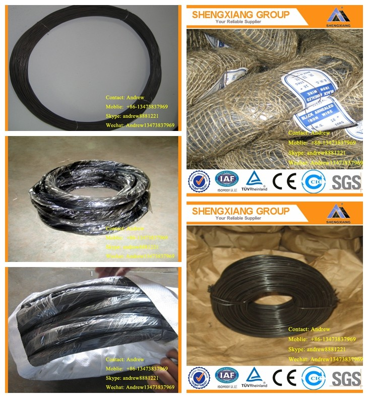 Soft Quality Black Binding Wire With ISO9001;14001 as Construction Material (Factory Lower Price)