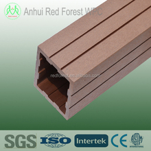 timber composite garden fence post/plastic composite post