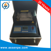 Automatically transformer oil breakdown voltage tester