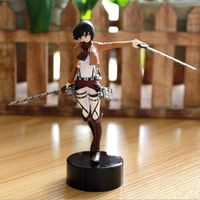 HOT Anime Shingeki No Kyojin Attack on Titan 6'' Mikasa Ackerman Trainee Corps Action Figure PVC Model Collectibles Figures Toys