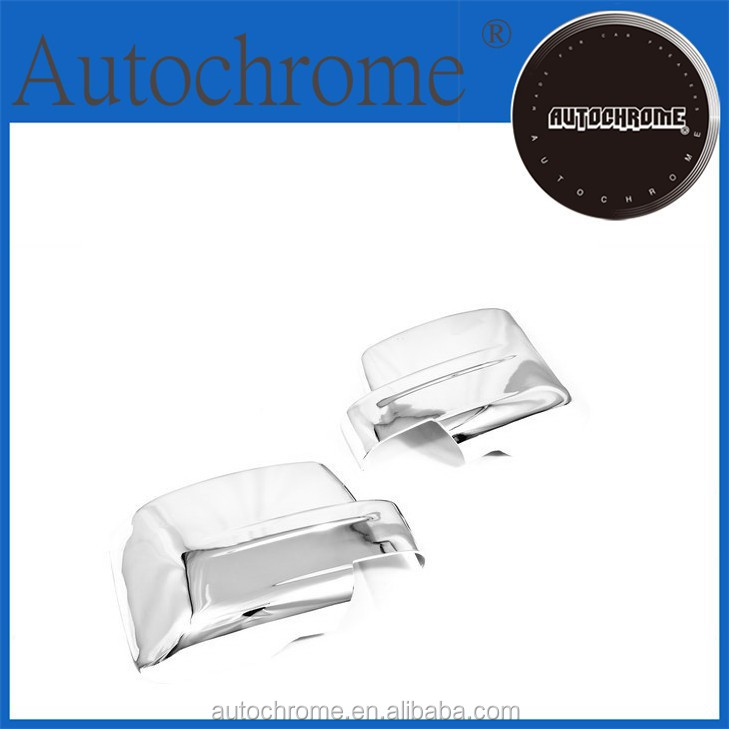 Business gift chrome car trim accent styling Chrome Door Mirror Cover for Jeep Patriot 07-10