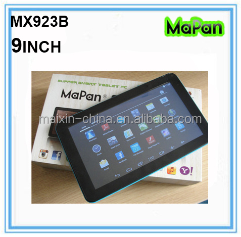 Very Cheap 9 Inch ATM7021A Dual Core Tablet PC Android 4.4 Mid Tablet Manual, MaPan Tablet PC MX923B