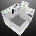 Detian Display offer 10x10 trade show expo stand, portable trade show booth for expo custom