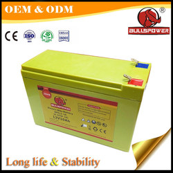 rechargeable free vrla agm battery 12v 7ah sealed lead acid battery 6-dzm-7