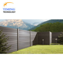 Garden pool 4ft wood plastic composite fence panels