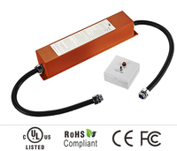 Outdoor and indoor LED emergency driver