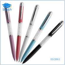 2016 promotional gift items crystal ball pen/pens with crystals inside