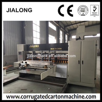 used die cutting presses auto roller rotary die-cutting machine paper box making machine