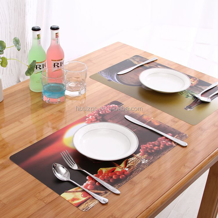Disposable placemats baby dinner mat washable table mat for Dinner table placemats