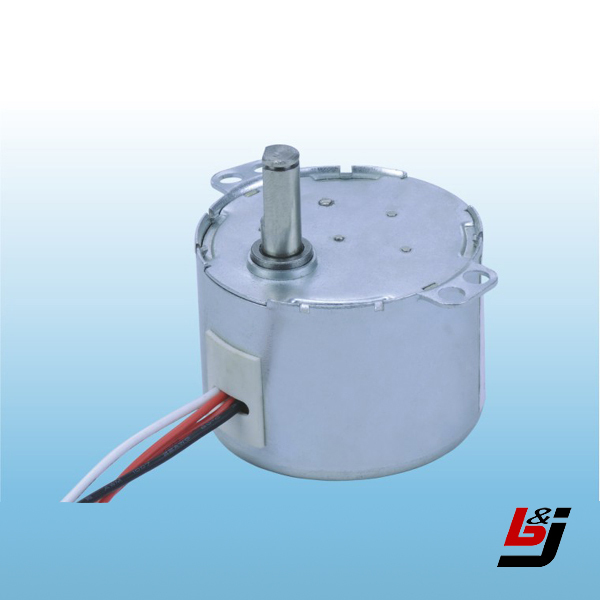 Ac synchronous motor with low rpm for air vent swing for Low rpm air motor