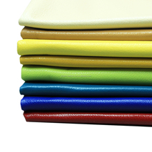 solid color dyed sheep skin leather hides for garment use