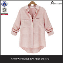 Linen cotton ladies shirt