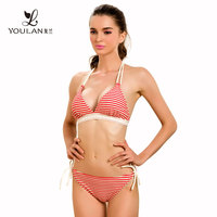 High Quality Seductive Sweet Girl Polyester Model Sexy Hot 18 Girls Swimwear