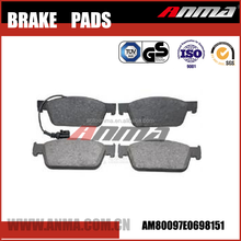 Auto chassis parts wholesale german brake pads 7E0698151
