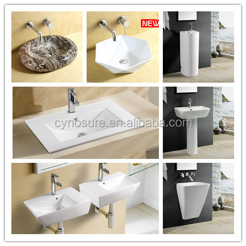 made in China ceramic egg shape oval wash basin for hotel