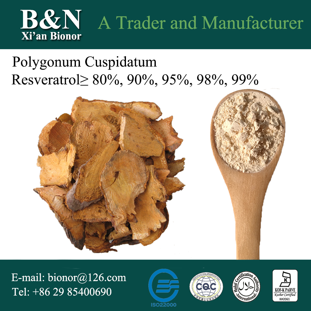 China curcumin and resveratrol for wholesales