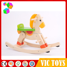 newest wholesale mechanical horse,riding horse toy on wheels, wooden rocking horse for kids