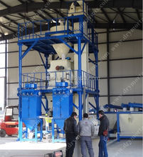 Latest Chinese product MG full automatic construction material batching and mixing production line export to Malaysia hot sale