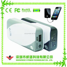 Top selling CE FCC certificated mini smart rohs power bank 4000mah for all mobile phones