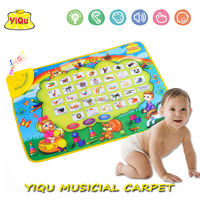 Russian carpet baby play mats baby learning music carpet music floor mats toy