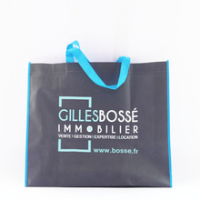 WG034 Promotion polypropylene tote folded shop bag