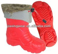 New Injection heated work boots for outdoor and promotion,light and comforatable