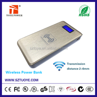 New hot product power bank wireless charger qi wireless power bank android phone qi power bank