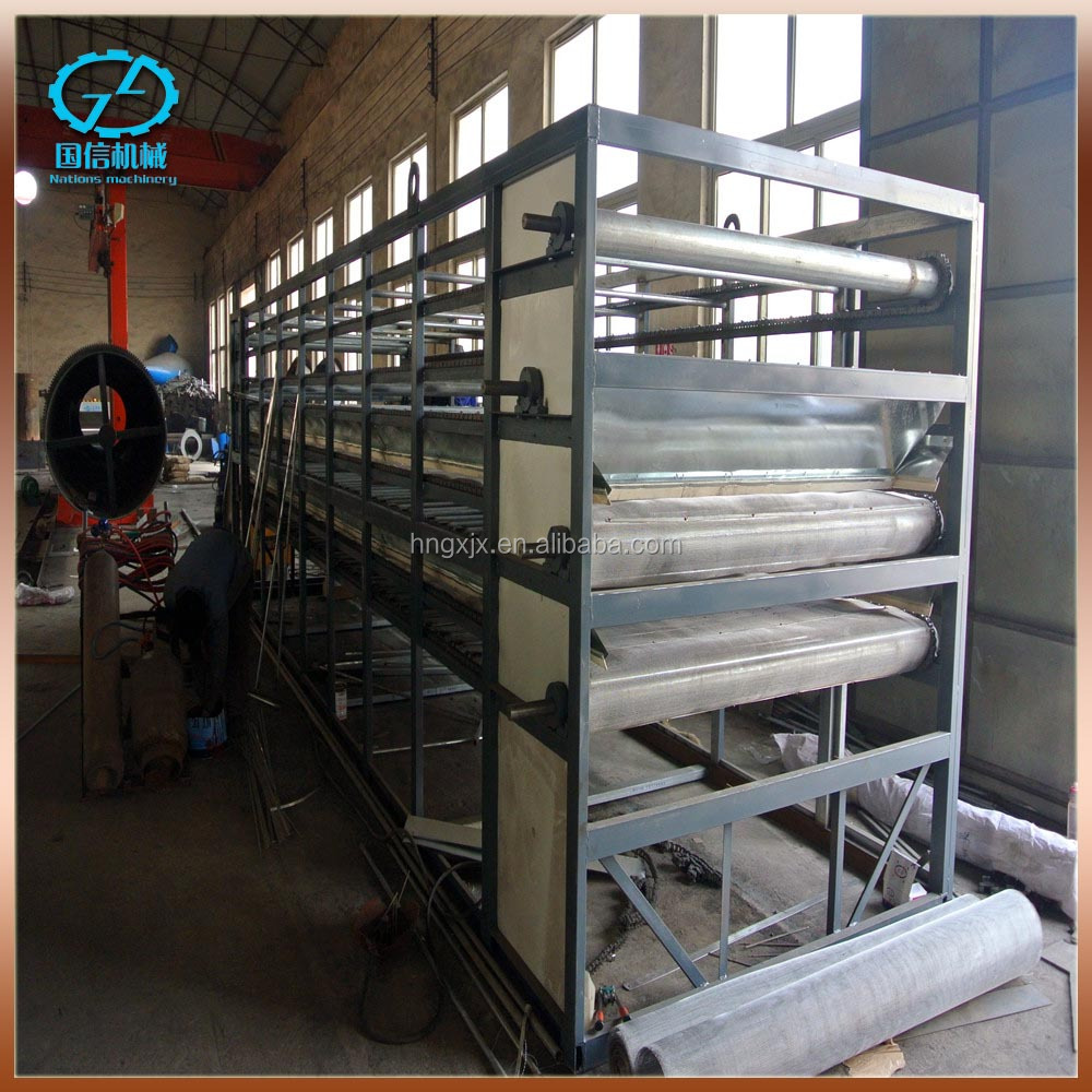 Hot fruit and vegetable drying machine popular in Mid-East
